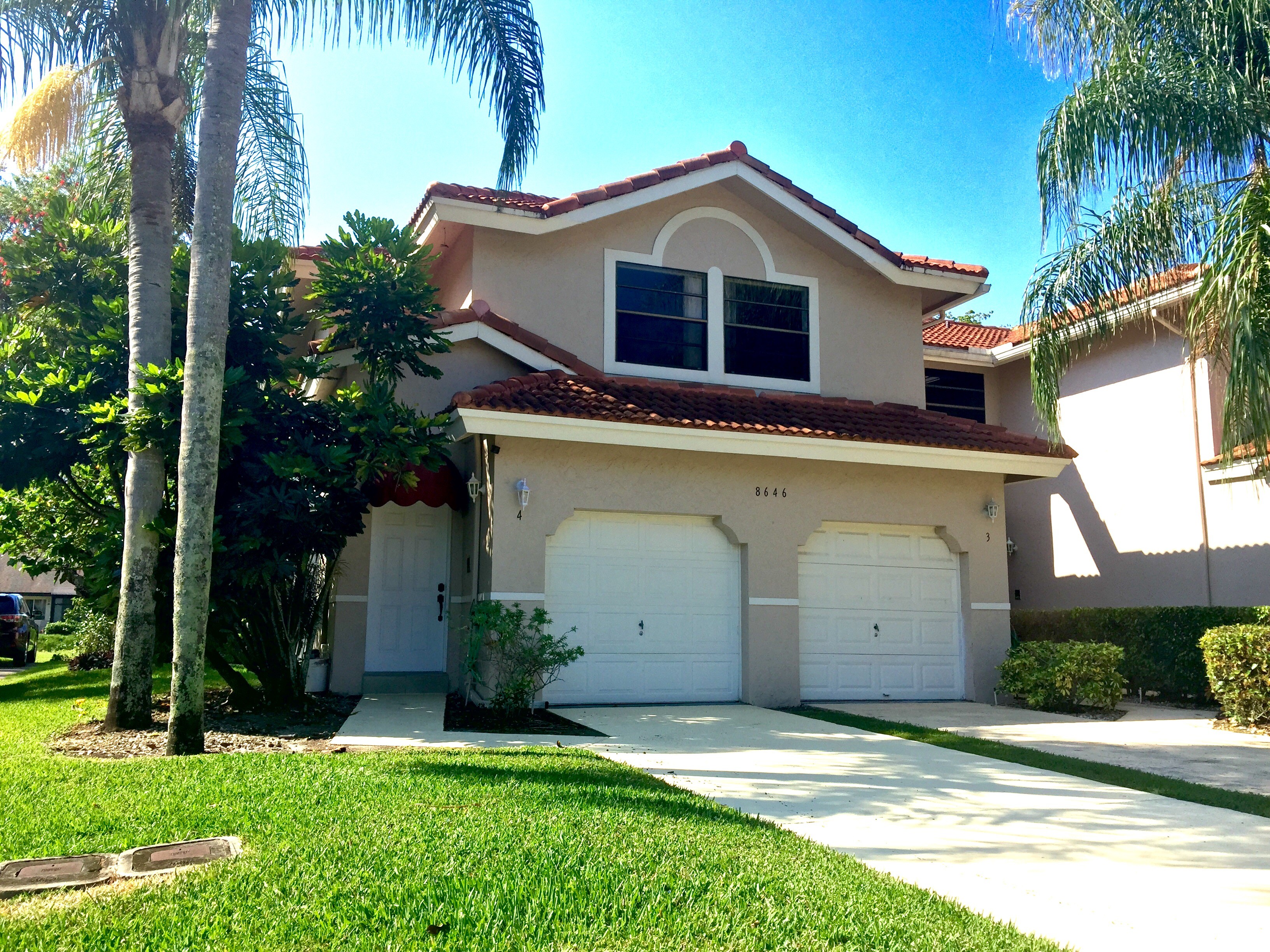 Priced Below Market – Town home with with water view in Villa San